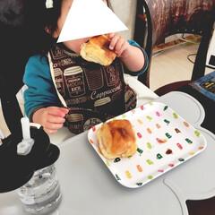 こどものいる暮らし/1歳/女の子ママ/簡単料理/親子で楽しく/ロールパン/... 私が学生の頃に朝食でよく食べていた ハム…(6枚目)