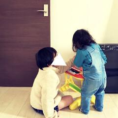 ピアノ/女の子ママ/男の子ママ/1歳/4歳/兄妹/... リビングのキッズコーナーに置けない 大き…