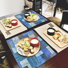 カフェ風雑貨/おもてなしの心/女子会ごはん/ワークショップ/自宅で/おうちカフェ/... 先日の自宅ワークショップでは リース作り…