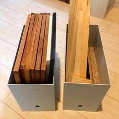 折れ戸収納/便利収納/収納棚/おすすめ/定番アイテム/人気商品/... 無印良品のファイルボックスは DIY素材…