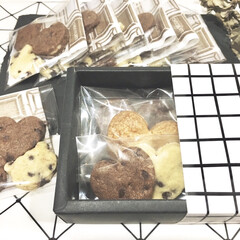 こどものいる暮らし/チョコチップクッキー/型抜きクッキー/バレンタインデー/バレンタインギフト/バレンタインレシピ/... 今年のバレンタインは 2歳の娘と一緒にク…