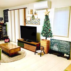 豆イスリメイク/壁紙DIY/コラベル/こどものいる暮らし/クリスマススワッグ/クリスマス仕様/... クリスマスがやってきた!コンテストに参加…