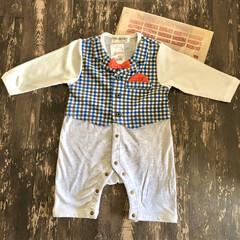 プチプラファッション/赤ちゃんのいる生活/生後100日/100日祝い/カバーオール/ベビー服/... 3人目の成長はあっという間…!  10月…
