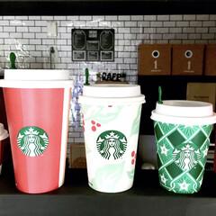 スタバカップ/スタバ新商品/スタバ新作/スターバックスコーヒー/スターバックス/スタバ好き/... 一昨日から始まったスタバホリデー。  カ…