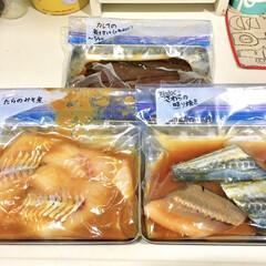 ラク家事/作り置き/さわら/カレイ/たら/魚料理/... 食材の買い出しは1週間分まとめ買い派です…