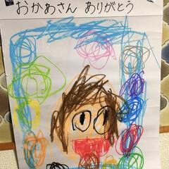 成長記録/カラフル/ありがとう/似顔絵/年中さん/4歳/... バタバタしていて、投稿が遅くなってしまい…