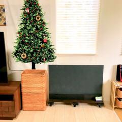 こどものいる暮らし/デッドスペース活用/デッドスペース/リビングインテリア/お絵描きコーナー/クリスマスインテリア/... わたしのDIYコンテストに参加します♪ …