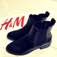 くつ/ファッション小物/ショートブーツ/エイチアンドエム/半額/冬セール/... 違う目的で立ち寄ったH&Mで なんとブー…