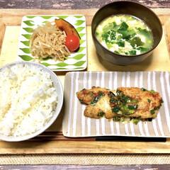 魚皿/ナチュラルキッチンアンド/フライパン料理/マヨネーズ焼き/マヨネーズ/もやしナムル/... 最近ハマっているのがマヨネーズ料理。  …