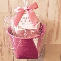 ありがとう/日用雑貨/ピンク/良い香り/フローラル/ジルスチュアート/... 仲良しのママ友ちゃんから 可愛らしいピン…