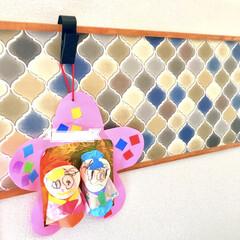 親バカ/ほっこり/かわいい/壁飾り/幼稚園児/雛人形/... わたしの手作りコンテストに参加します♪ …