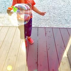 ウッドデッキ/夏を楽しむ/ストレス発散/夏休み/猛暑/こどものいる暮らし/... 4歳と1歳の子どもがいます。  幼児さん…