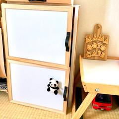 木製仕切りBOX/木製仕切りボックス/木製仕切りケース/セリアリメイク/女の子ママ/男の子ママ/... わたしのDIYコンテストに参加します♪ …