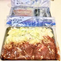 塩麹/下味レシピ/下味保存/下味冷凍/おうちごはん/節約/... 毎週土曜は 1週間分の食材買い出し&下味…