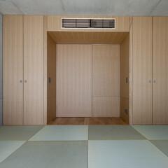 和室/ゲストルーム/畳/収納 畳敷きのゲストルームです。