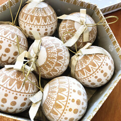 niko and.../ニコアンド/オーナメント/フォロー大歓迎/クリスマス/クリスマスツリー/... クリスマスがやってきた! ニットのような…