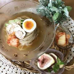 冷麺/鶏ハム/おうちごはん おはようございます(*´꒳`*)♡ 久し…