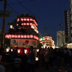 祭り/おでかけ 〜祭り〜 露店もゆっくり見れず💦 すごい…(2枚目)