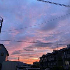 風景写真/空/夕方の空 7月27日19時の空(*´꒳`*)♡ オ…(2枚目)