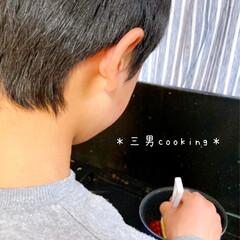 セリアの瓶/セリアの器🍧/暮らし/100均/100均グッズ/最近買った100均グッズ/... *三男cooking* 連休1日 さくら…(4枚目)