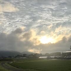 雨あがりの空/空 *July 14 夕方の雨あがりの空(*…
