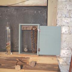 ペイント/端材DIY/端材/カフェ風インテリア/DIY/ネックレス/... 端材を使って、アクセサリー収納をdiyし…