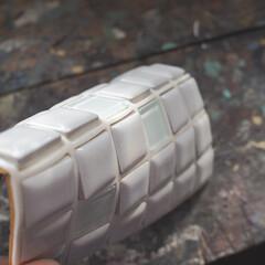 モザイクタイル プチコレガラスMIX ホワイト | 藤垣窯業(その他建築用タイル)を使ったクチコミ「プチコレガラスMIXをモニターしています…」