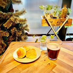 Plakira/クリスマス/スコーン/DIY/キッチン雑貨/雑貨/... スコーンつくりました。 ホットケーキミッ…