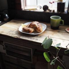 コーヒー/パン/おうちカフェ/リミアな暮らし/DIY/雑貨/... なんか😅私のフォト食べ物多めですが……。…(1枚目)