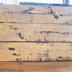 すのこ/すのこ風/小物の撮影の背景にも/新聞紙がわりに作業台に載せる板/クラッキングメディウム/ターナー色彩/... 前にプリンタの目隠しの為にすのこ風にDI…