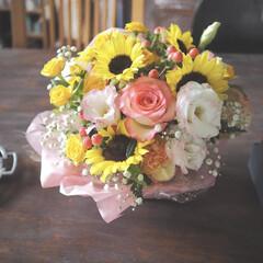 dulton ダルトン アルミ トリベット 100-017 φ180 QTL5501 | ダルトン(鍋敷き)を使ったクチコミ「少し前に、知り合いのお花屋さんに行って、…」