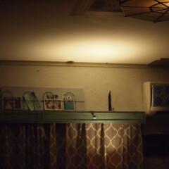 モロッコ風/寝室/夏インテリア/インテリア/DIY/100均 お部屋のカラーを寒色系にしたら、見た目が…