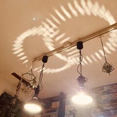 インダストリアル/天井/照明/DIY/雑貨/住まい/... 寝る前に、照明を消そうと思って天井を見上…