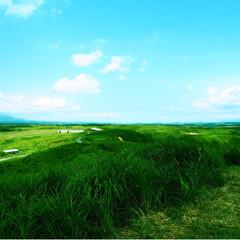 ブログ書いてます/うららかものづくりCafe/景色/山/空/阿蘇/... 阿蘇に行った時の写真です。 熊本人だから…