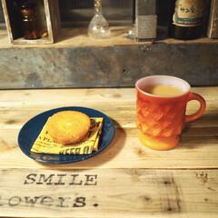 ファイヤーキング/夜カフェ/おうちカフェ/limiaキッチン同好会/100均/DIY/... あんまり夜おやつは良くないけど、 疲れち…