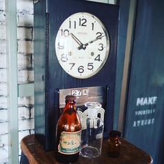 アイデア投稿もしています/インスタグラムやってます/ブログ書いてます/うららかものづくりCafe/古時計/瓶/... 最近買った古道具たちです。 少し前の時代…