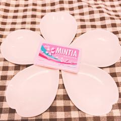 アサヒグループ食品株式会社 ミンティア さくら 50粒(その他ダイエット、健康)を使ったクチコミ「最近買ったMINTIAがピンクのパッケー…」
