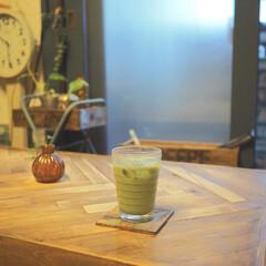 アンティークワックス 120g ターナー色彩 | ターナー(ワックス)を使ったクチコミ「夏バテ気味になる季節は、抹茶ミルクドリン…」