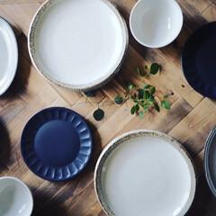 お皿/器/ユーカリポポラス/新生活/DIY/キッチン雑貨/... お皿を新調しました。 いろんなお料理やス…