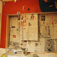 ターナー色彩 ミルクペイントforウォール(室内かべ用) 200ml アボカドディップ MW200522 | ターナー(ペンキ、塗料)を使ったクチコミ「子供部屋のペイントをしました♪  これま…」