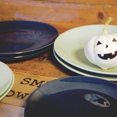 かぼちゃ/ハロウィン/食器/アイデア投稿もしています/インスタグラムやってます/ブログ書いてます/... 先日IKEAで購入したもののなかに かぼ…