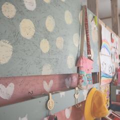 ターナー色彩 ミルクペイント 200ml 55・トリトンブルー MK200055 | ターナー(ペンキ、塗料)を使ったクチコミ「子供部屋をラブリコで仕切ってるんですが、…」