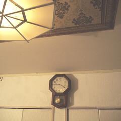 モロッコ風/私のお気に入り天井/私のお気に入り/アイデア投稿もしています/セルフリノベーション/寝室/... 夜の寝室の天井と壁になります。  こちら…
