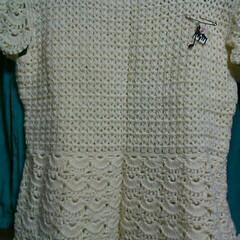 セーター/編み物/ファッション/ハンドメイド とってもお世話になっている方への贈り物と…