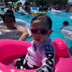 スリーコインズ/水着/サングラス/しらこばと水上公園/プール 灼熱の夏もプールで乗り切ろう♪