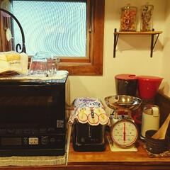 キッチンボード/小窓/風鈴/計量カップ/ファイヤーキング/トースター/...