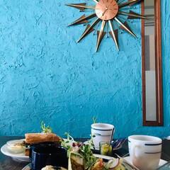 ブルー/idakiCafe/kobe/オシャレcafe/BLUE同盟/オーガニック/...   体にも、お財布にも、優しいCafe