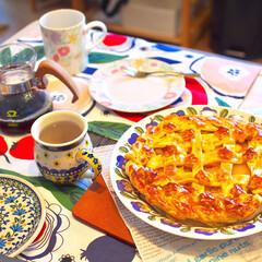 手作りお菓子/アップルパイ りんごをたくさんもらったのでアップルパイ…