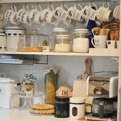 キッチン/カフェ風/100円ショップ/セリア/デロンギ/ダイソー/... コーヒー飲まないと一日が始まらないし 終…