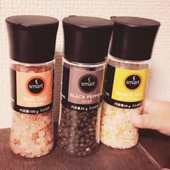 ミル/パケ買い/ソルト/ペッパー/胡椒/岩塩/... 完全にパケ買いw ミニサイズのミル付き調…